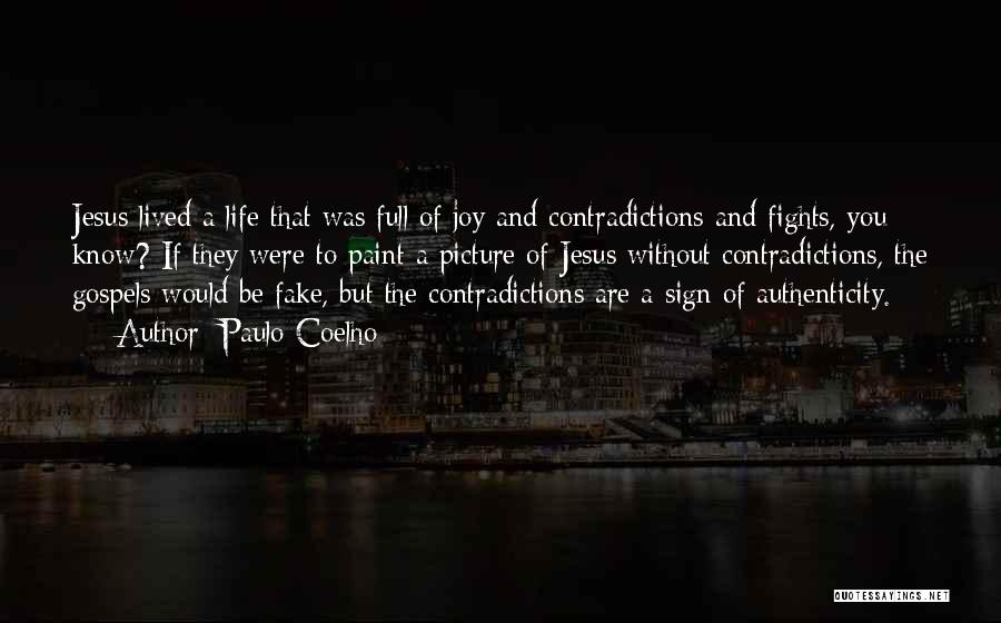 Jesus With Picture Quotes By Paulo Coelho