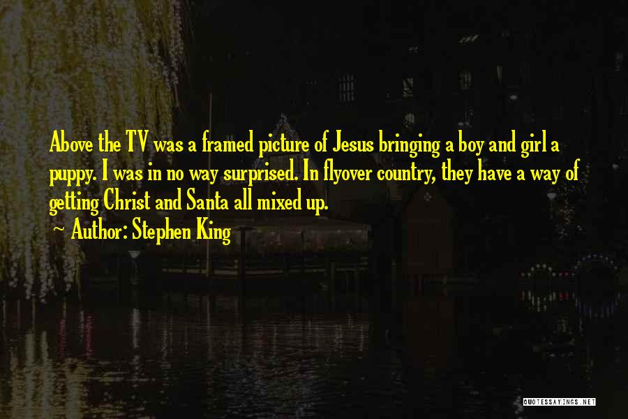 Jesus With Picture Quotes By Stephen King