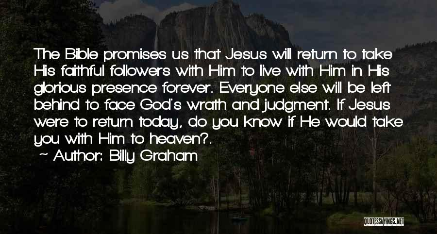 Jesus Wrath Quotes By Billy Graham
