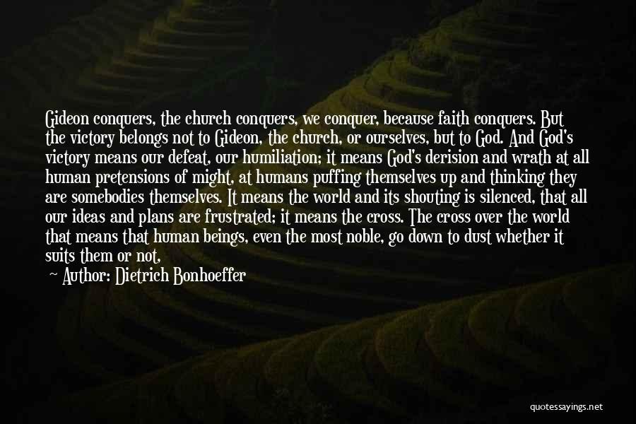 Jesus Wrath Quotes By Dietrich Bonhoeffer