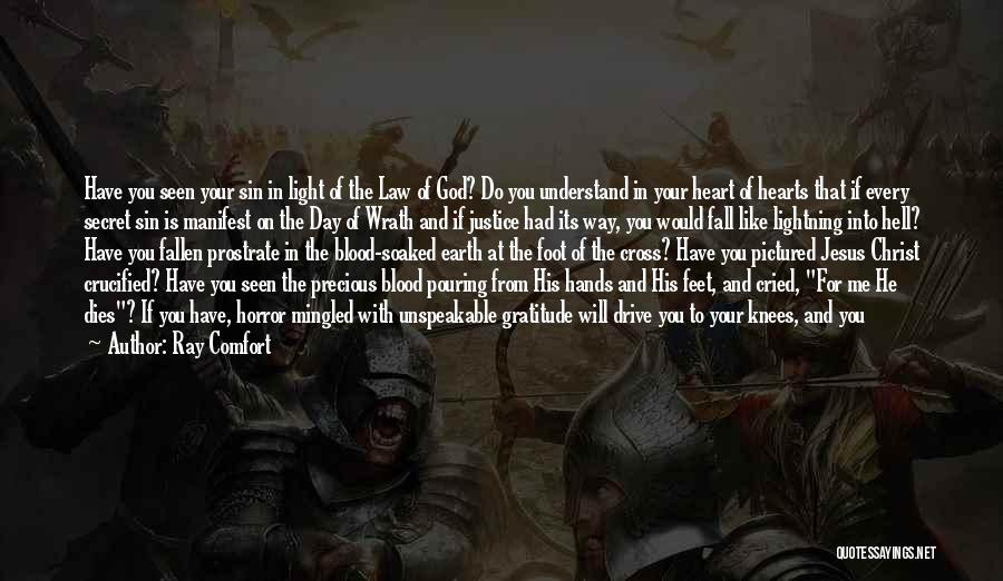 Jesus Wrath Quotes By Ray Comfort