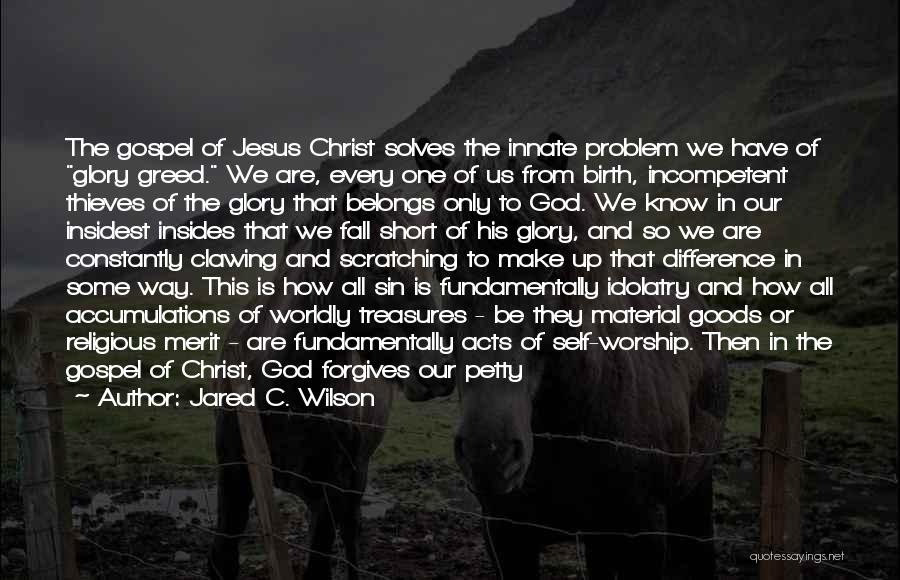 Jesus's Birth Quotes By Jared C. Wilson