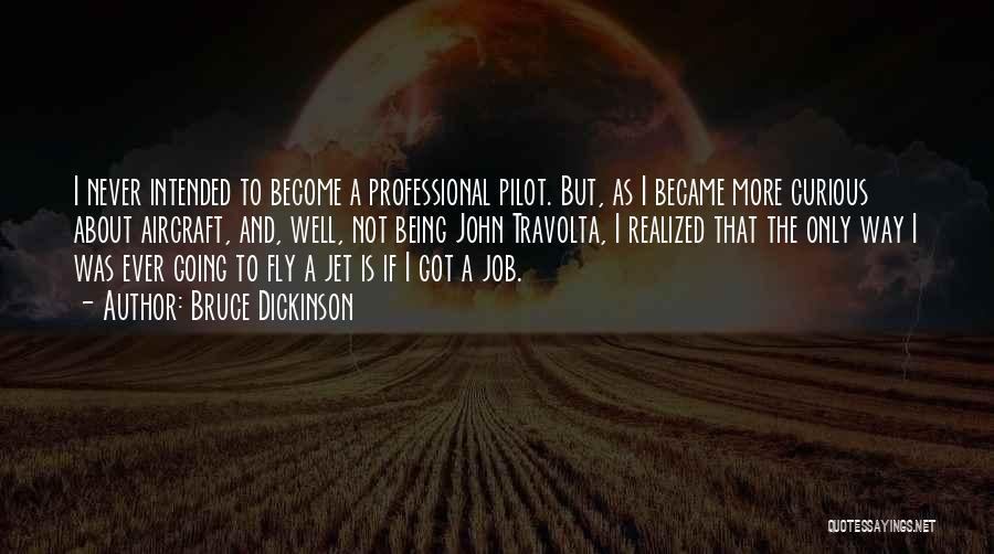 Jet Aircraft Quotes By Bruce Dickinson