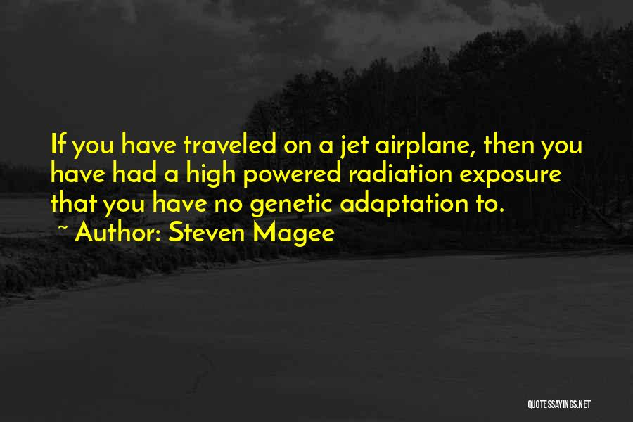 Jet Aircraft Quotes By Steven Magee