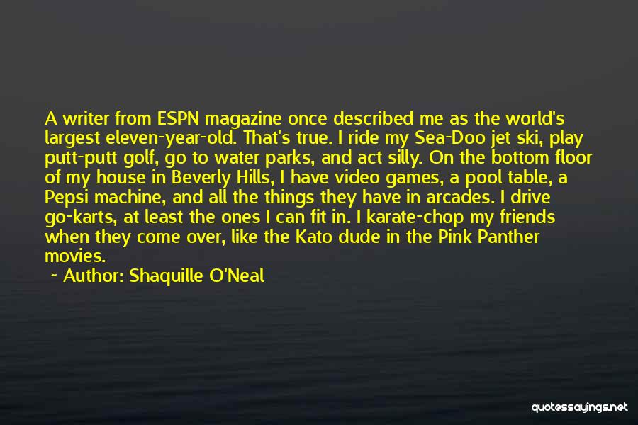 Jet Ski Quotes By Shaquille O'Neal