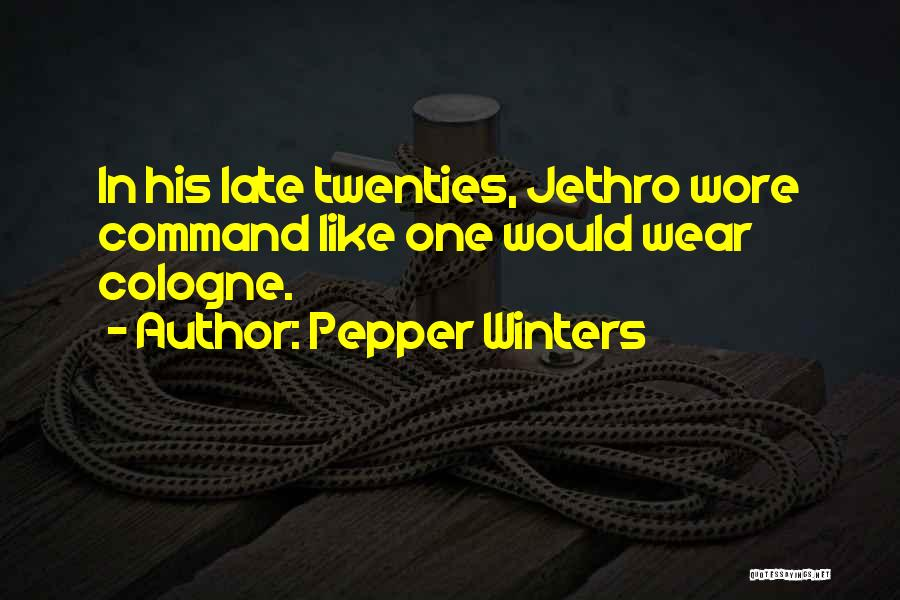 Jethro Quotes By Pepper Winters