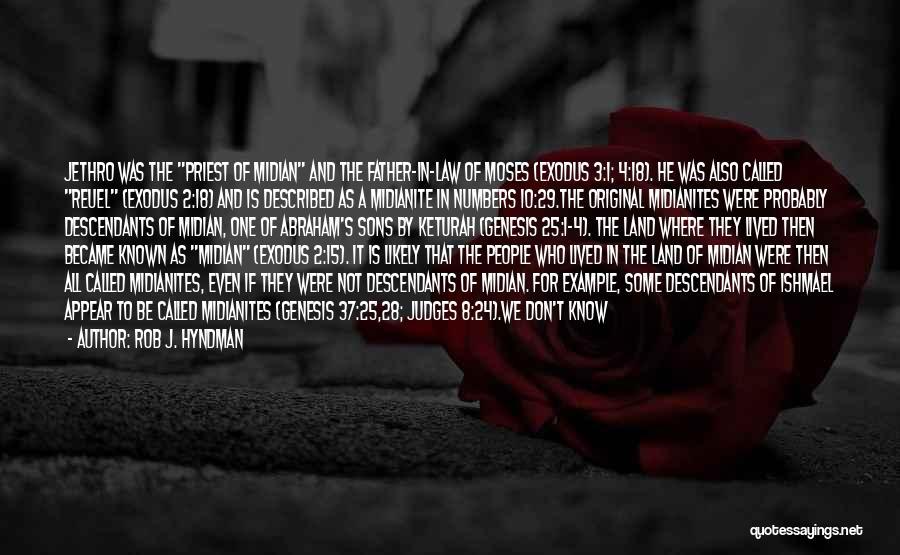 Jethro Quotes By Rob J. Hyndman