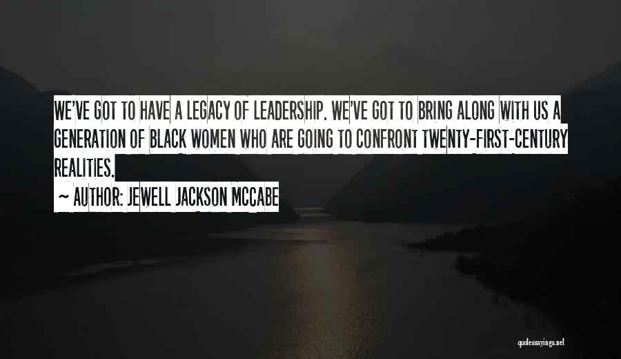 Jewell Jackson McCabe Quotes 1481220