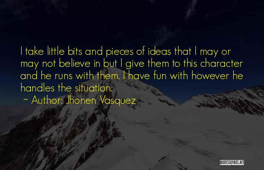 Jhonen Vasquez Quotes 562197