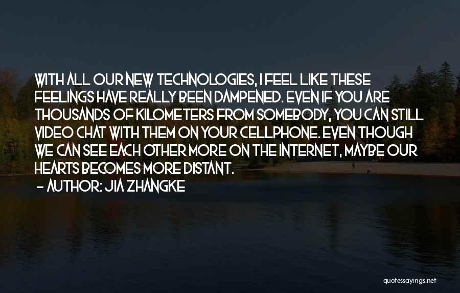 Jia Zhangke Quotes 716424