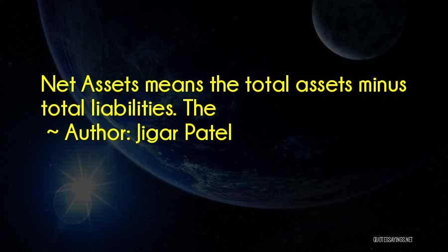 Jigar Patel Quotes 1082763