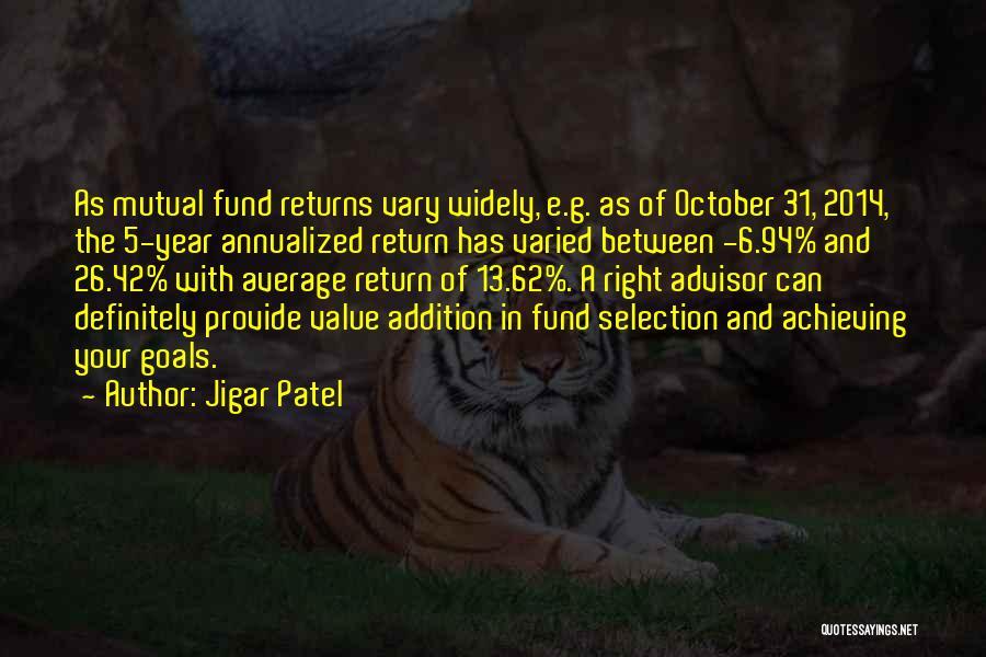 Jigar Patel Quotes 1989479