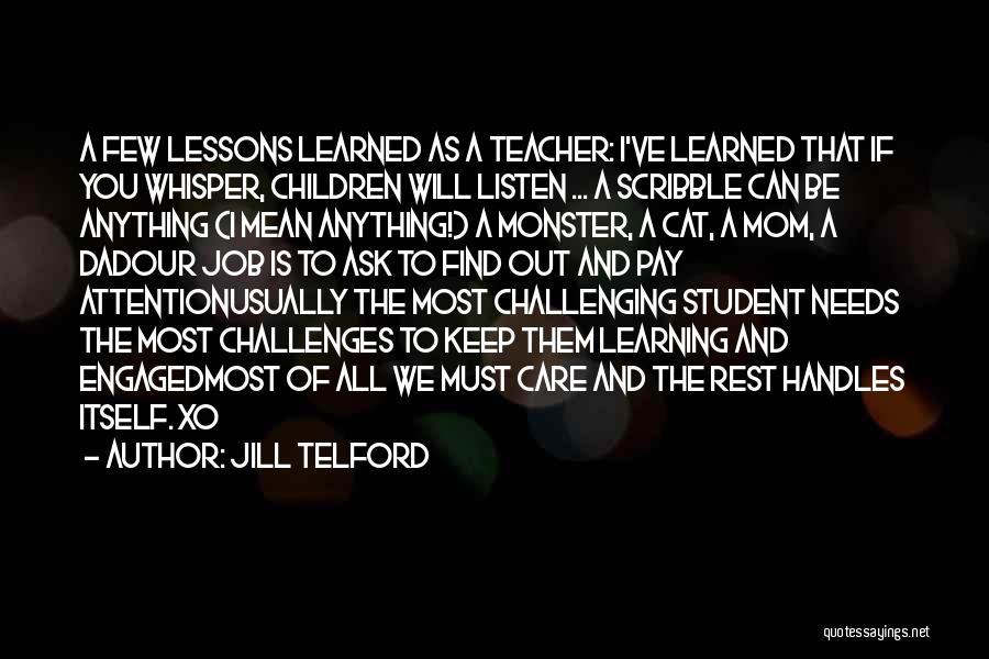 Jill Telford Quotes 1381605