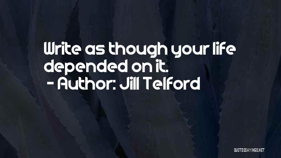 Jill Telford Quotes 1891901