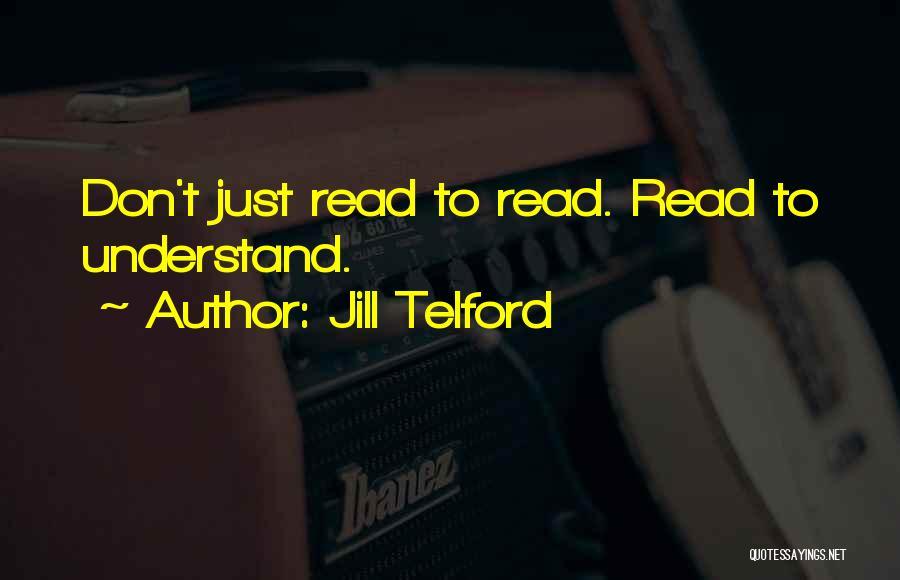 Jill Telford Quotes 375766