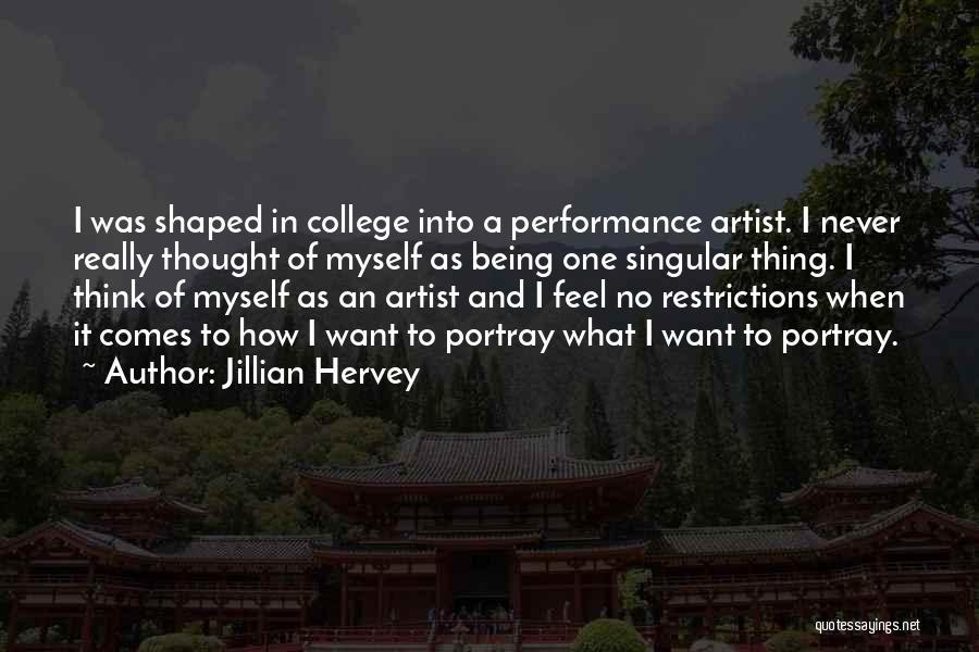 Jillian Hervey Quotes 1227016