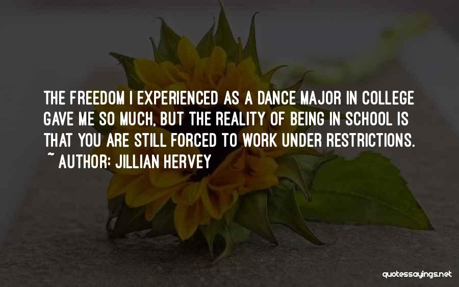Jillian Hervey Quotes 2024754