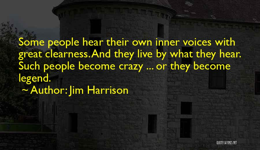 Jim Harrison Quotes 1073374