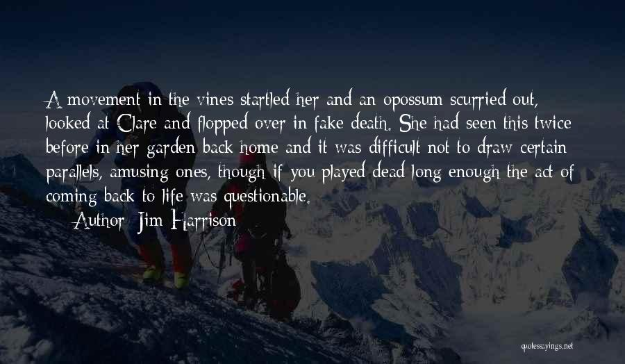 Jim Harrison Quotes 392769