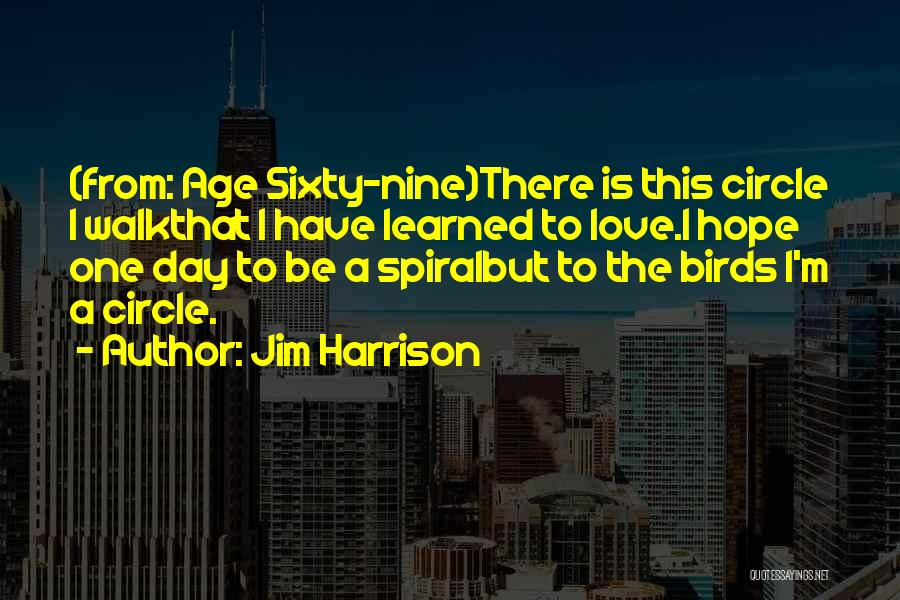 Jim Harrison Quotes 770144