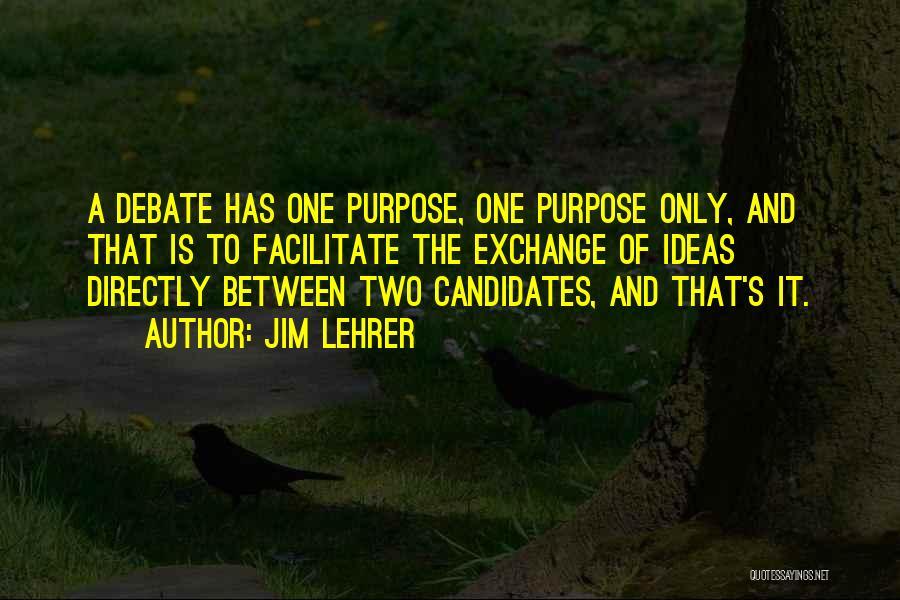 Jim Lehrer Quotes 1099955