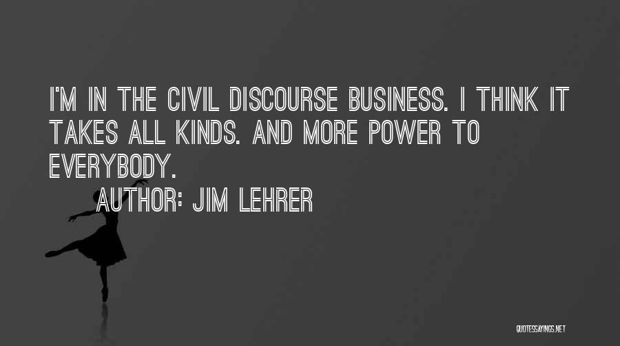 Jim Lehrer Quotes 1300190