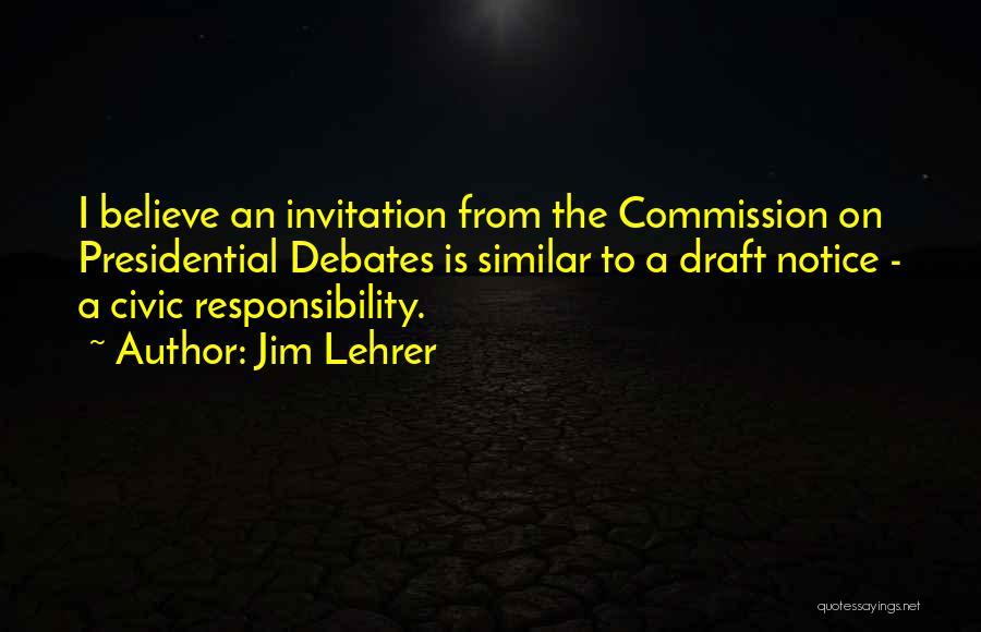 Jim Lehrer Quotes 1656097