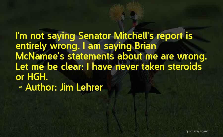 Jim Lehrer Quotes 302569