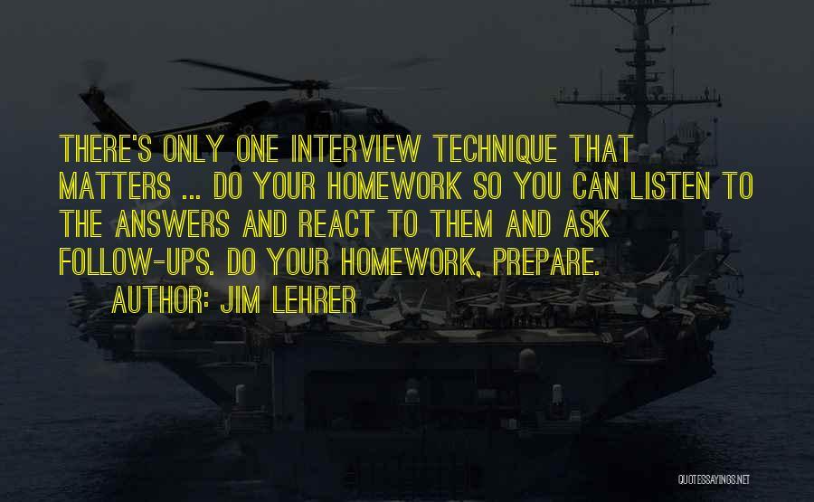 Jim Lehrer Quotes 583243