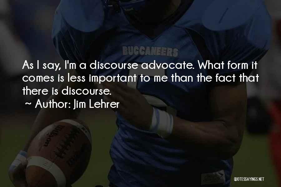 Jim Lehrer Quotes 769316
