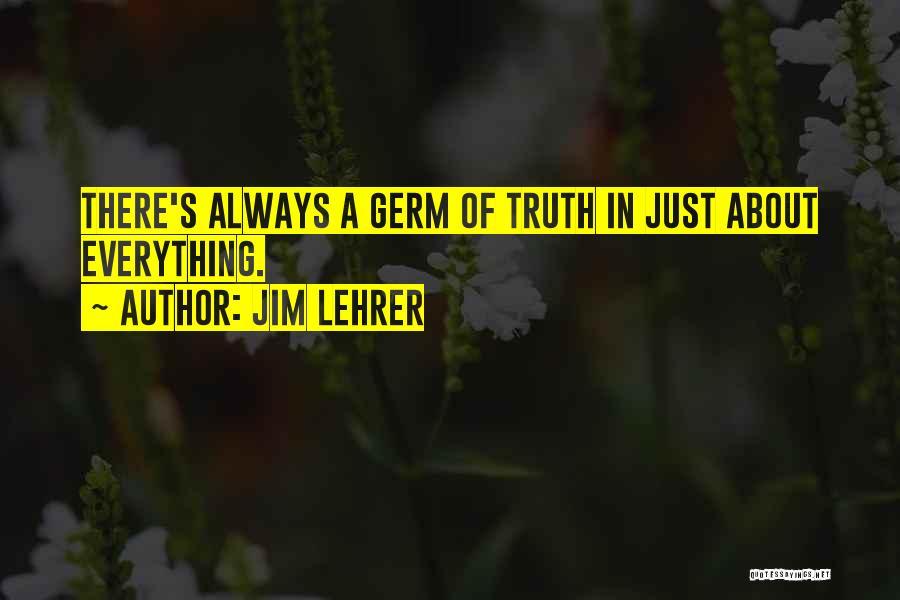 Jim Lehrer Quotes 877561