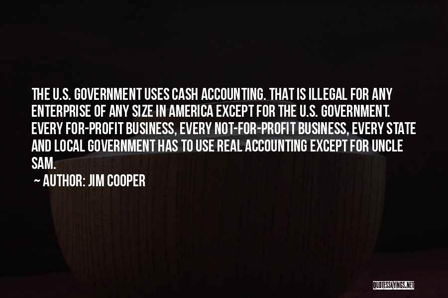 Jim Profit Quotes By Jim Cooper