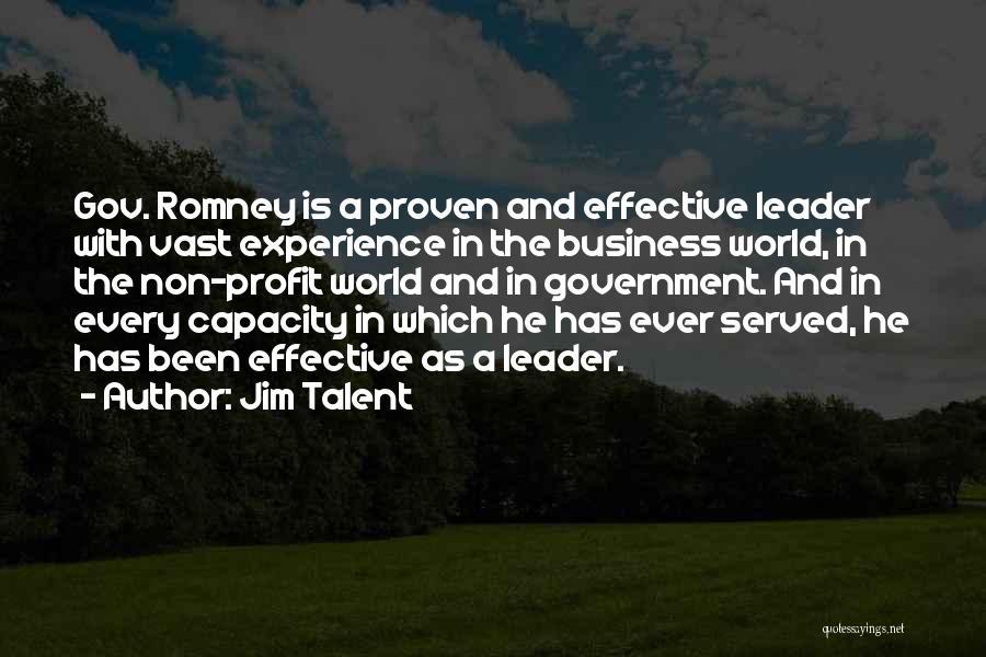 Jim Profit Quotes By Jim Talent