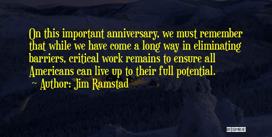 Jim Ramstad Quotes 1449734