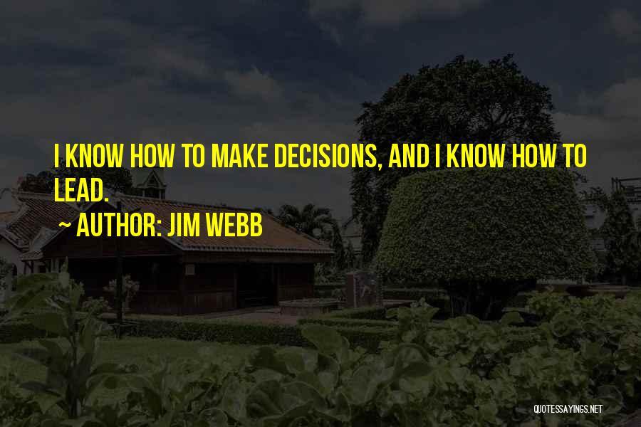 Jim Webb Quotes 946796