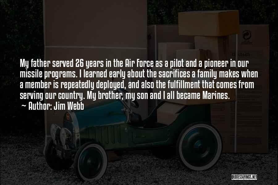 Jim Webb Quotes 958881