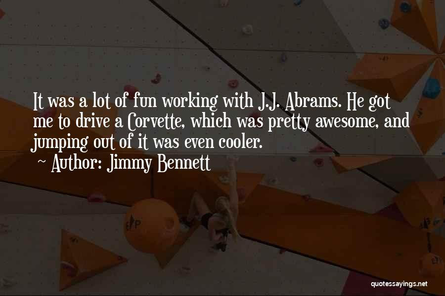 Jimmy Bennett Quotes 1146817