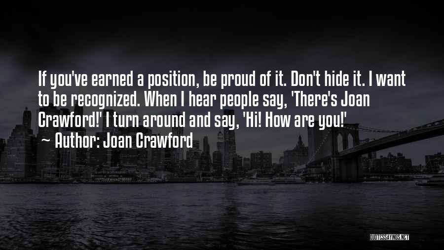 Joan Crawford Quotes 1066319