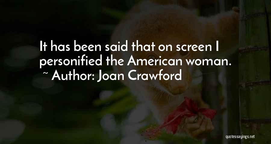 Joan Crawford Quotes 981801