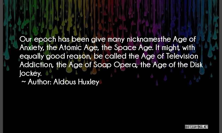 Jockey Quotes By Aldous Huxley