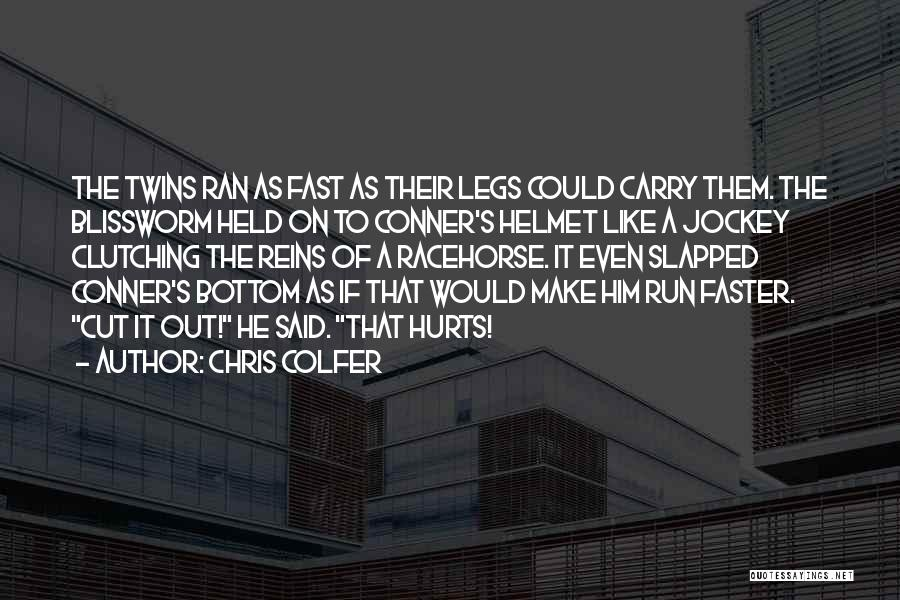 Jockey Quotes By Chris Colfer