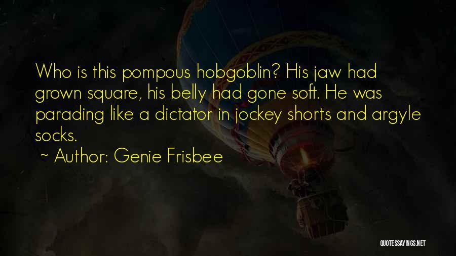 Jockey Quotes By Genie Frisbee