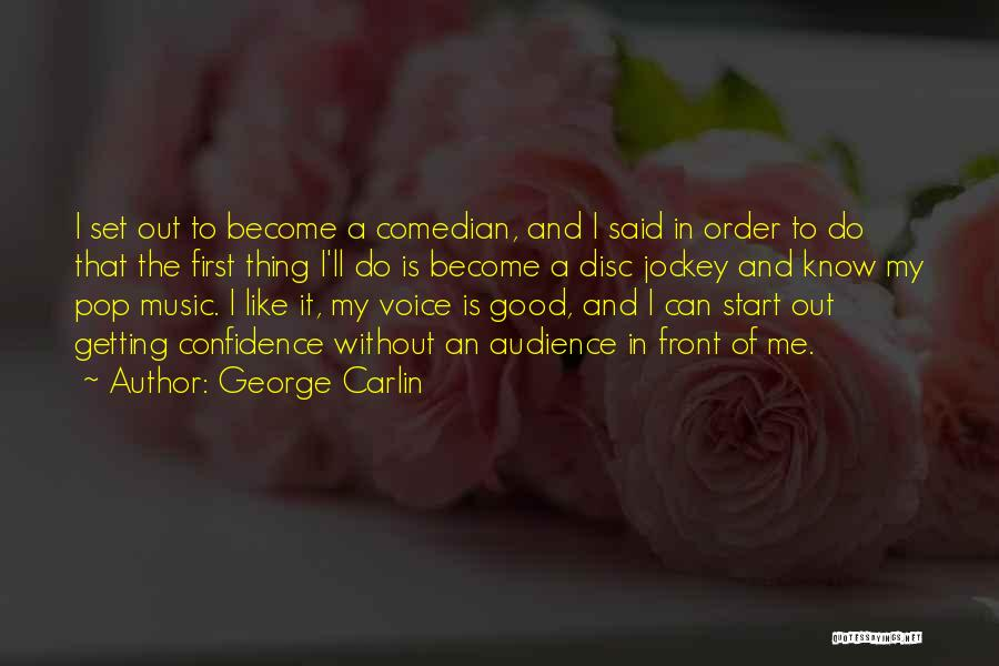 Jockey Quotes By George Carlin