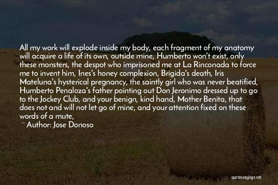 Jockey Quotes By Jose Donoso