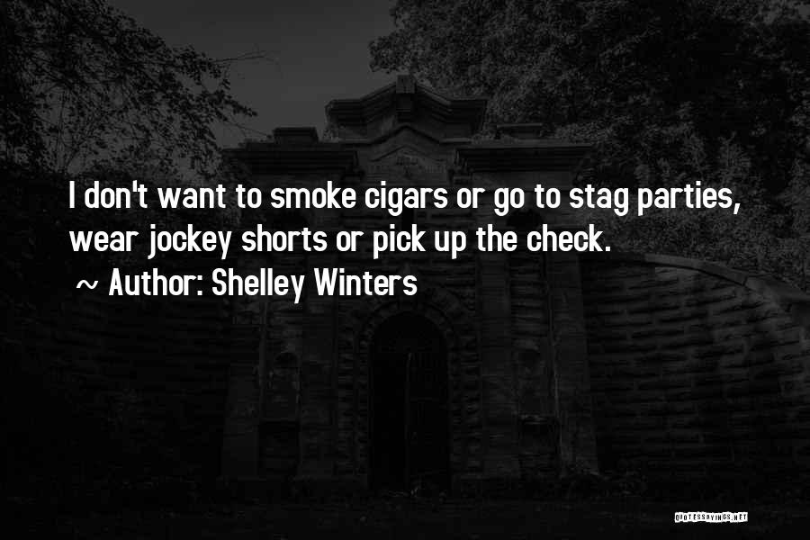 Jockey Quotes By Shelley Winters