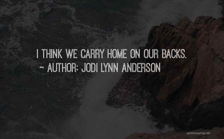 Jodi Lynn Anderson Quotes 1441491