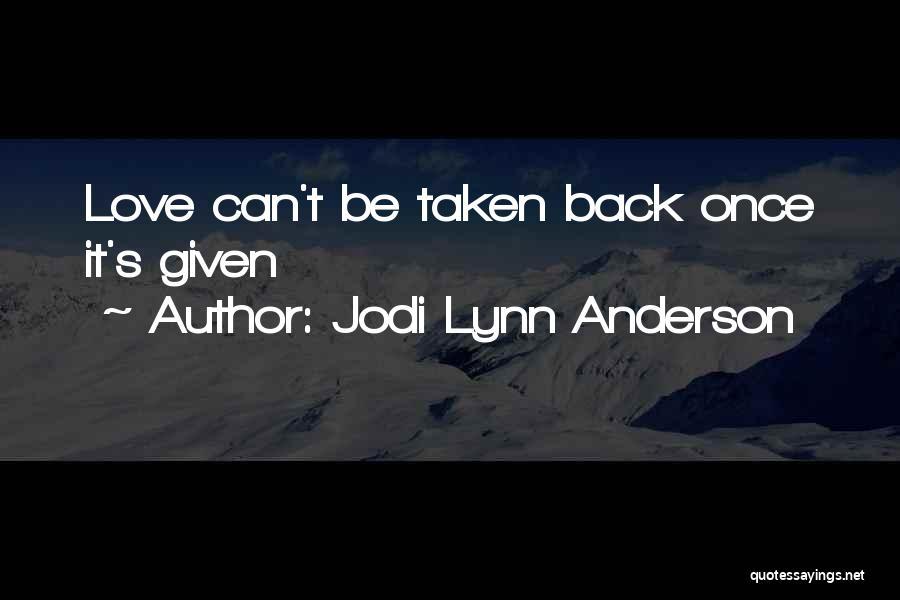 Jodi Lynn Anderson Quotes 1781857
