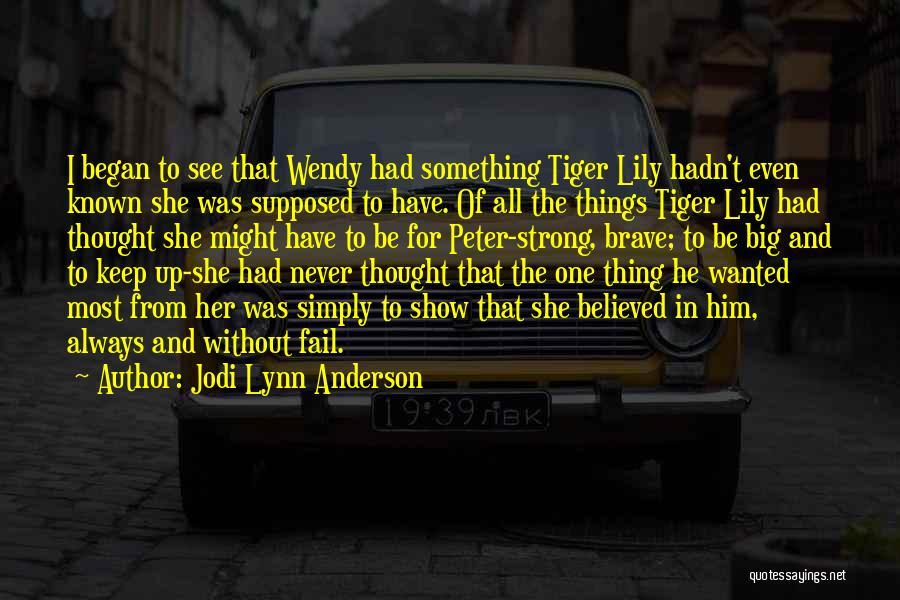 Jodi Lynn Anderson Quotes 528052