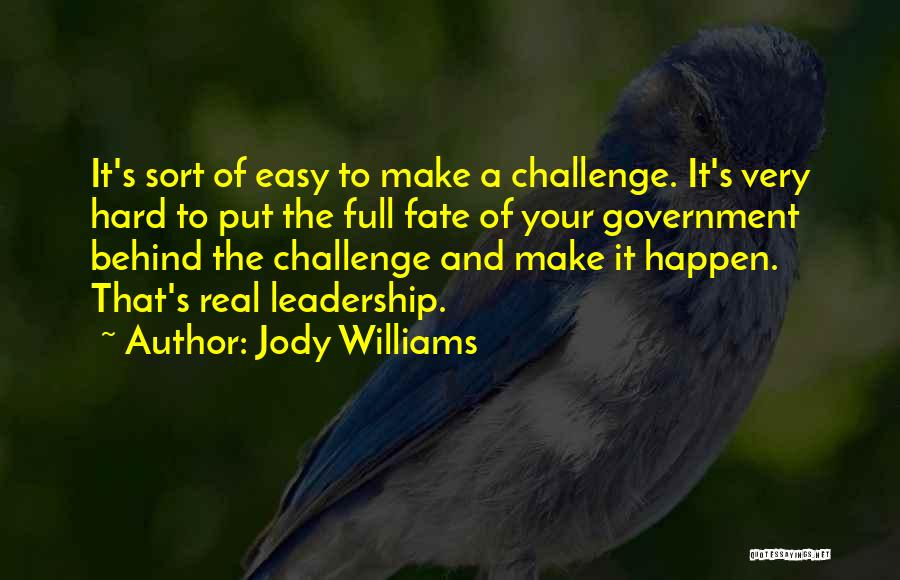 Jody Williams Quotes 1749436