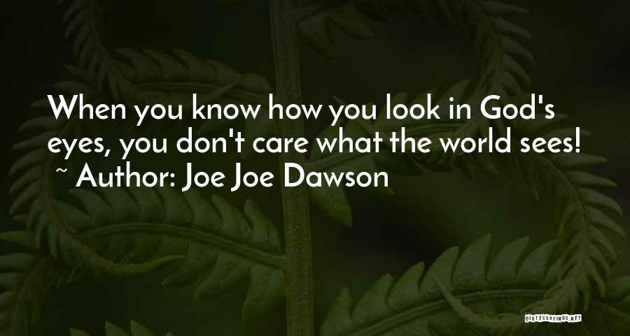 Joe Joe Dawson Quotes 2253393
